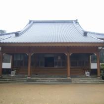 寺院屋根改修